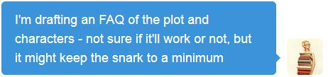 Writing an FAQ